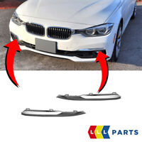 NEW GENUINE BMW 3 SERIES F30 F31 LCI FRONT BUMPER FOG LIGHT GRILL TRIMS PAIR SET
