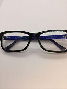 Ray Ban RB5268 5179 Black/Blue Optical Eyeglasses Frame 52-17-135