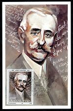 2598 - Yugoslavia 1993 - Famous People - Aleksa Santic - Writer - Maximum Card