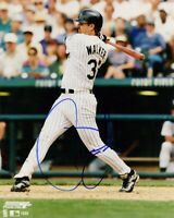 Larry Walker Autographed Signed 8x10 Photo ( HOF Rockies ) REPRINT
