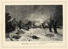 H.R. Reder (dopo la battaglia) grafica militare di 1899