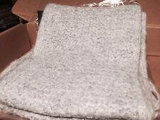 50% OFF! NWT Ralph Lauren Womens Honeycomb Mohair Wool Grey Heather Scarf $78
