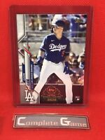 2020 Topps Chrome GAVIN LUX Topps Update Preview Rookie RC #UP-4 Dodgers