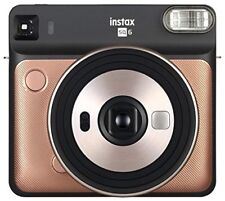 Fujifilm Instax SQ6 analógica instantánea cuadrada dorado turquesa