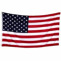 3'x 5' FT American Flag U.S.A United States U.S. Stripes Stars Brass Grommets D1
