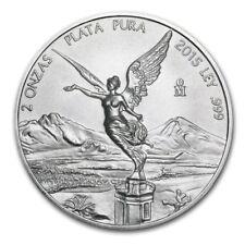 2015 2 oz Mexican Silver Libertad Coin (BU)