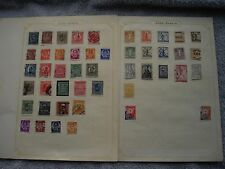 Yugoslavia Bosnia  stamp collection early collection on album pages