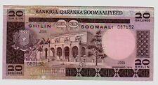 Somalia 20 scellini 1975  Spl  XF   Pick 19  lotto 1205