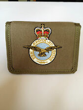 MENS WALLET/ ROYAL AIR FORCE RAF WINGS LOGO CANVAS RAF 273