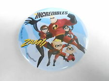 VINTAGE PROMO PINBACK BUTTON #83-060 - MOVIE - THE INCREDIBLES