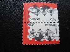 Bresil-timbre yvert and tellier # 1053 1055 n ** (tu) stamp brazil