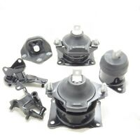 Engine Motor & Automatic Trans Mount Set of 6 Pcs For Acura TSX 2.4L 2004-2008