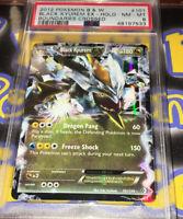 Black Kyurem EX 2012 Pokemon B&W Boundaries Crossed #101 Holo - PSA 8