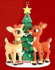 Rudolph the Red Nosed Reindeer & Clarice *  American Greetings ornament