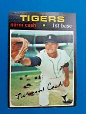 1971 Topps Norm Cash Detroit Tigers Baseball Card # 599