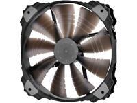 DEEPCOOL XFAN 200RD Rubber Coating 200mm 3-pin & 4-pin Power Cable LED Case Fan