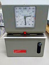 Lathem Vintage Time Clock Recorder Model 2121