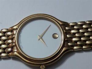 Movado Swiss Quartz Museum Model 87-33-866 Men's Wrist Watch