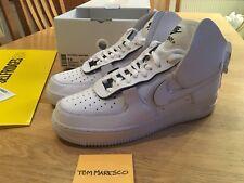 Nike Air Force 1 High psny Triplo Bianco AO9292-101 UK10 US11 EUR45