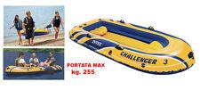 INTEX 68369 Gommone Canotto Gonfiabile Challenger 3  cm. 295X137X43 MAX 255 KG