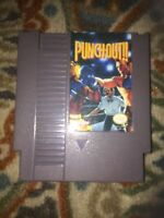 Punch-Out!! (Nintendo 1990 NES) Game Cartridge Authentic Tested