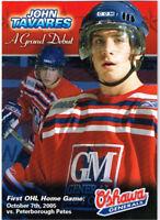2005-06 John Tavares  Oshawa Generals Grand Debut Rookie Card