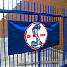 Shelby Cobra Flag Banner 3x5 ft Motorsport Car Racing Blue fix