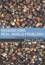 Researching Real-World Problems: A Guide to Methods of Inquiry, Very Good Condit