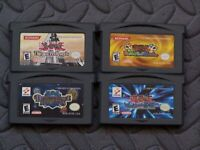 Lot Nintendo Game Boy Advance GBA Games YU-Gi-Oh! 4 games!