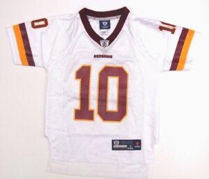 Robert Griffin III RG3 Washington Redskins #10 Youth 8-20 NFL Rebook Jersey