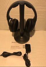 Sony MDR-RF995RK Wireless On-Ear Headphones - Black  GREAT FOR TV !!!