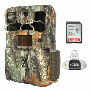 Browning Spec Ops Edge 2020 Trail Game Cam + 32GB Card + Phone Reader 20MP BTC8E