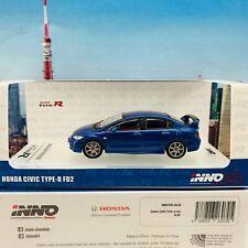 INNO64 1/64 Honda Civic Type-R FD2 BLUE IN64-FD2-BLUE