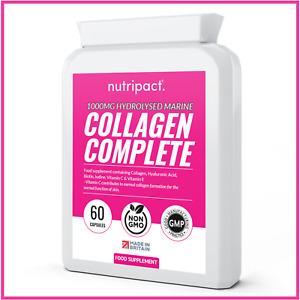 Hydrolysed Marine Collagen 1000mg Hyaluronic Acid, Biotin, Vitamin C, Iodine +