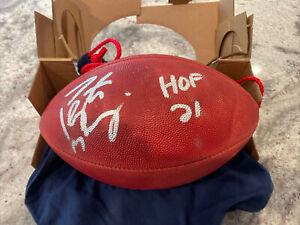 "PEYTON MANNING Autographed ""HOF 21"" Official Duke NFL Football FANATICS"