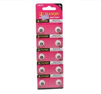 10PCS AG4 377A 377 LR626 SR626SW SR66 Alkaline Button Cell Watch Battery