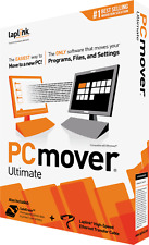 PCmover Ultimate - Windows 10, 8, 7, Vista and XP - BRAND NEW - FREE SHIPPING