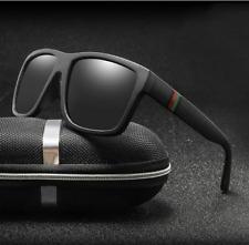 Gafas de Sol Moda Retro para Hombre Lentes polarizado Lujo Espejo Cuadrado UV400