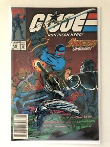 Marvel Comics G.I. Joe 132 Newsstand NM-