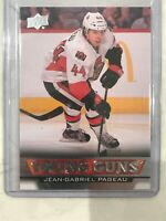 2013-14 JG PAGEAU UPPER DECK YOUNG GUNS RC  ROOKIE