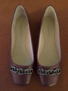 Easy Spirit Women's Ballet Flats - Size 6W - Purple/Wine Colour - BRAND NEW