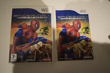 spider-man spider man allié ou ennemi nintendo wii pal