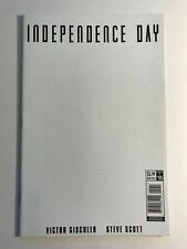 Independence Day 5 Blank Cover Variant Sketch Titan Comics 1st Print 2016 Movie
