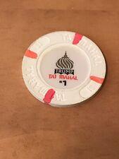 (5) Different $1 Atlantic City Casino Chips Inc. Trump Taj, Hard Rock Cafe