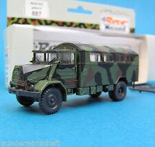 Roco Minitanks H0 887 MAN 630 KOFFER LKW Bundeswehr getarnt OVP HO 1:87 special