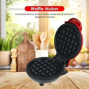 Mini Electric Waffles Maker Bubble Egg Cake Oven Breakfast Machine Press Toast