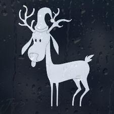 Divertido de Navidad de nieve estimado con Santa's Claus Sombrero coche decal pegatina de vinilo