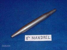 """8""""  Tapered Blacksmith MANDREL--Drift-Punch-Anvil-Ring Rounder"""