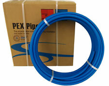"3/4"" x 100ft Blue Pex Tubing/Pipe Pex-B 3/4-inch 100 ft Potable Water NonBarrier"