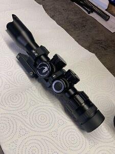 Mtc Viper Connect 3x12x32 scope With Mount Brilliant Condition Amx Reticle